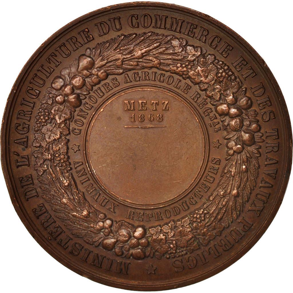 406662 france medal ville de metz concours agricole r gional animaux reproducteurs ttb. Black Bedroom Furniture Sets. Home Design Ideas