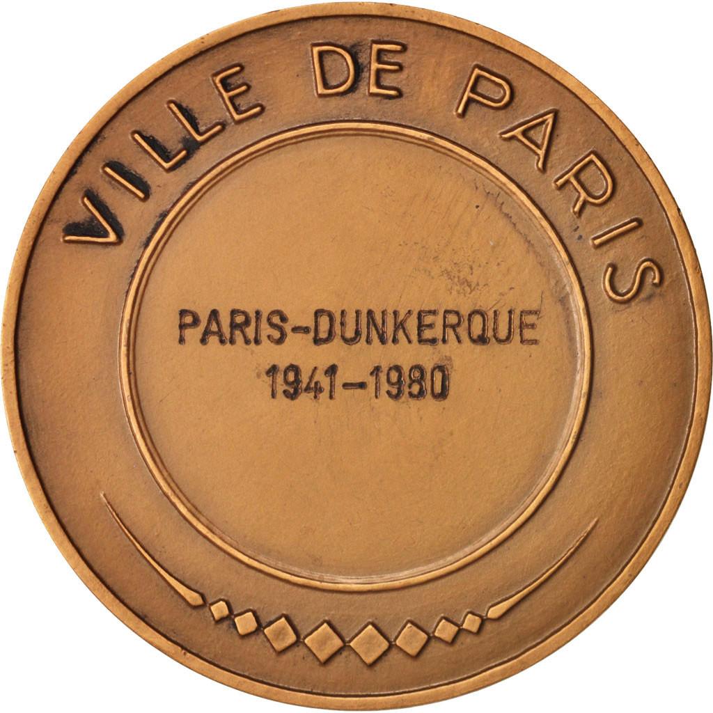 406888 france medal ville de paris paris dunkerque politics society war 1980 sup - Chambre de commerce de dunkerque ...