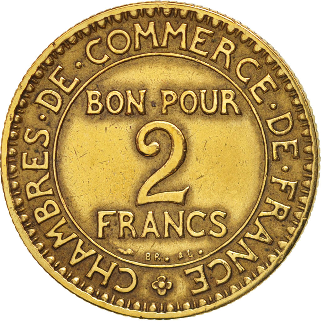 407952 france chambre de commerce 2 francs 1925 paris for Chambre commerce international paris