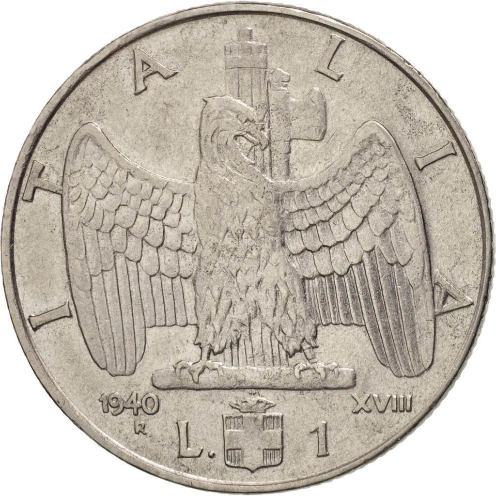#408960 Italie, Vittorio Emanuele III, Lira, 1940, Rome ...
