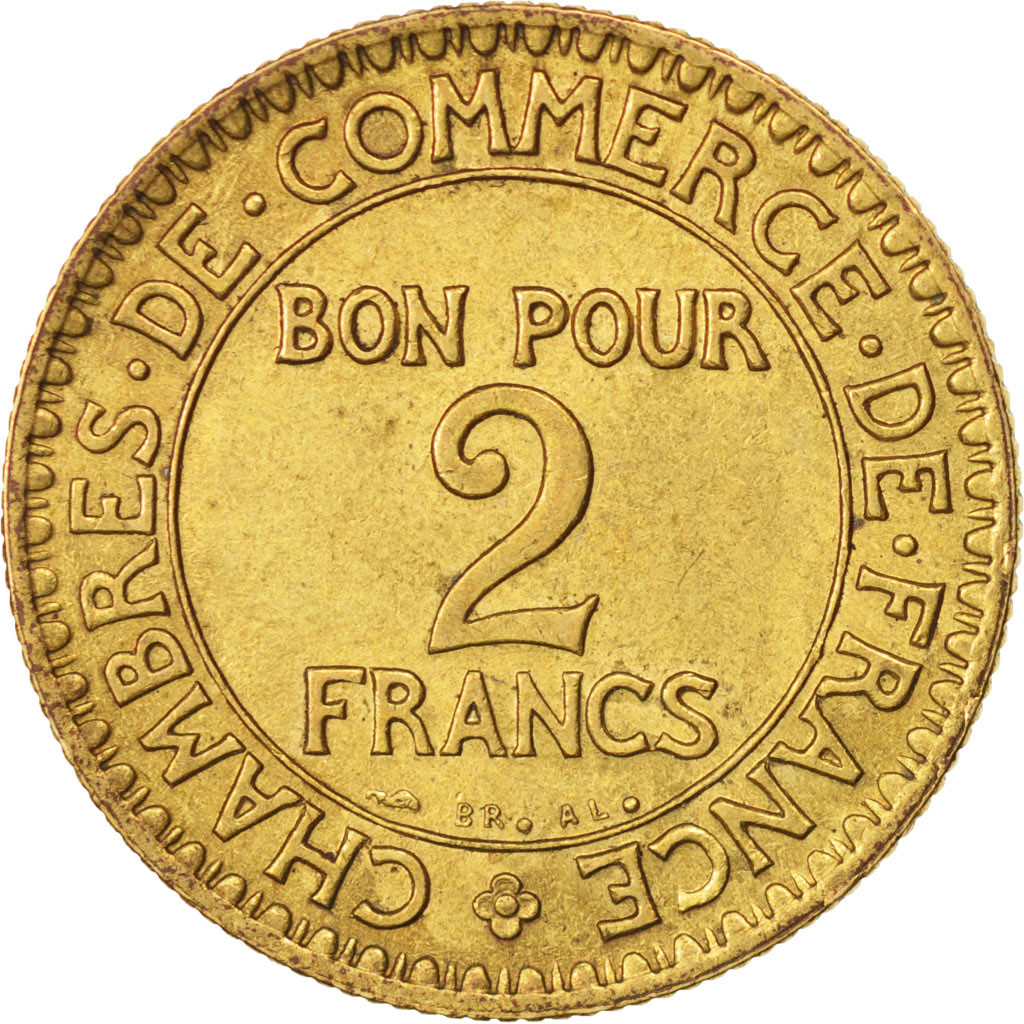 409586 france chambre de commerce 2 francs 1924 paris - Chambre de commerce francaise a l etranger ...