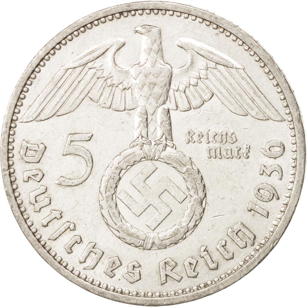 410079 allemagne iii me reich 5 reichsmark 1936 stuttgart ttb argent km 94 ttb 5. Black Bedroom Furniture Sets. Home Design Ideas
