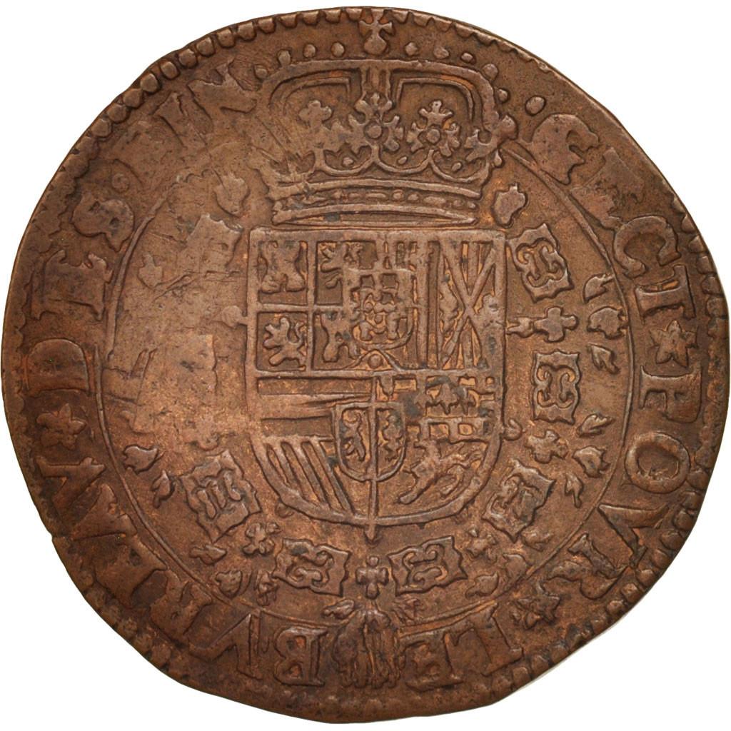 412041 belgique token spanish netherlands charles ii bruxelles bureau des finances ttb. Black Bedroom Furniture Sets. Home Design Ideas