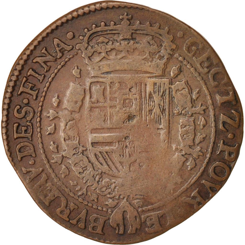 413531 belgique token spanish netherlands charles ii anvers bureau des finances ttb. Black Bedroom Furniture Sets. Home Design Ideas