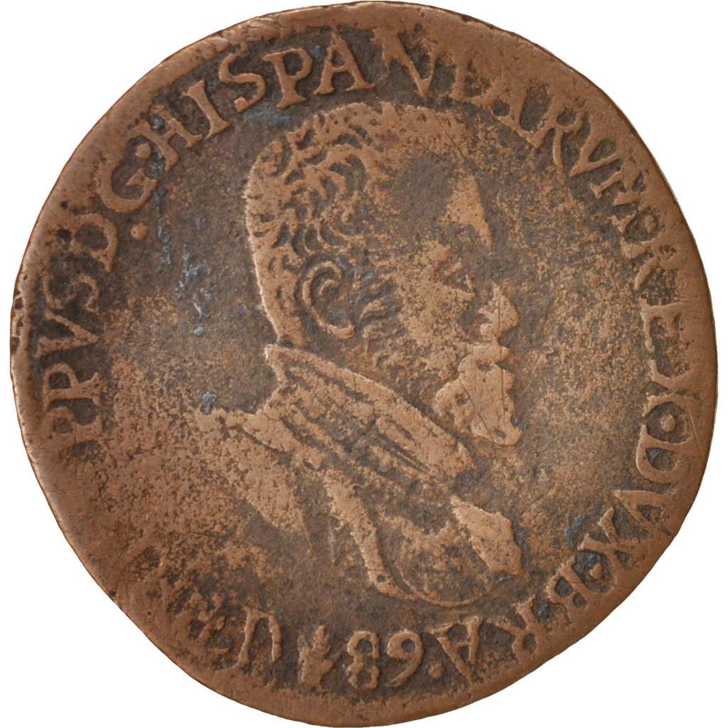 413545 belgique token philippe ii bureau des finances 1589 tb cuivre 28 tb token. Black Bedroom Furniture Sets. Home Design Ideas