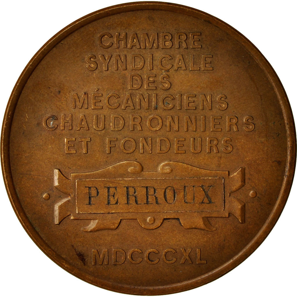 414153 france medal denis papin chambre syndicale des for Chambre syndicale des eaux minerales