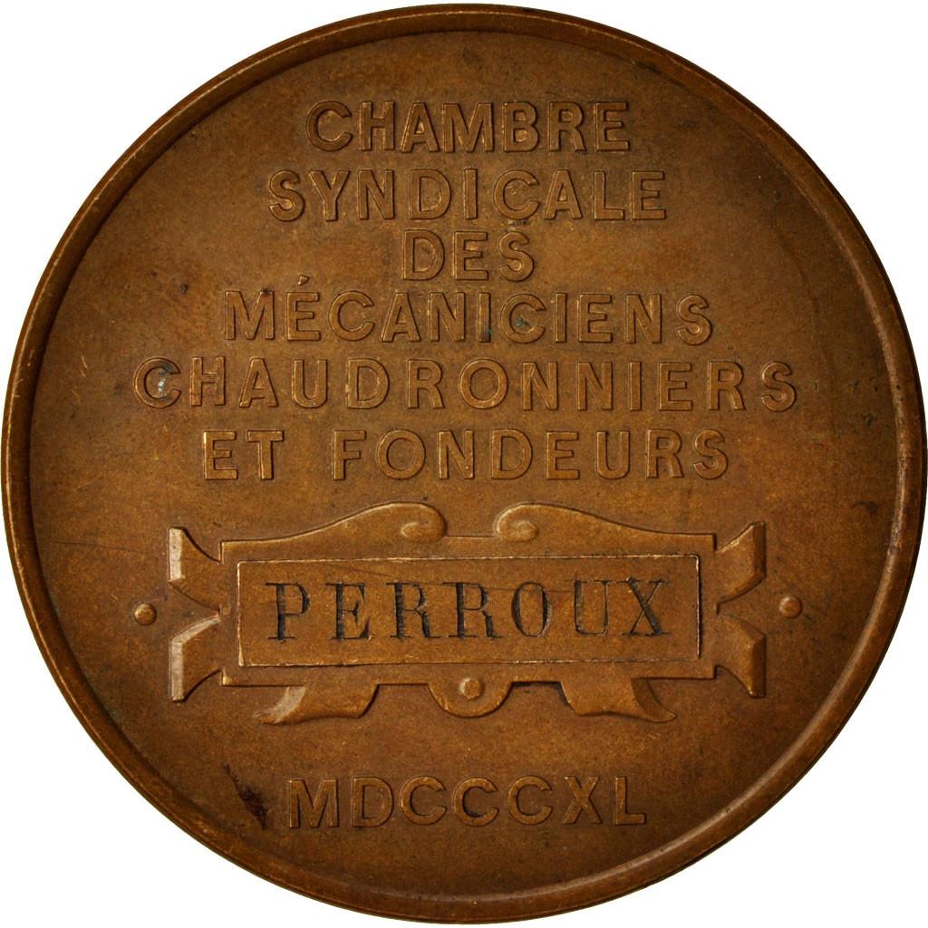 414153 france medal denis papin chambre syndicale des m caniciens chaudronniers ttb - Chambre syndicale des eaux minerales ...