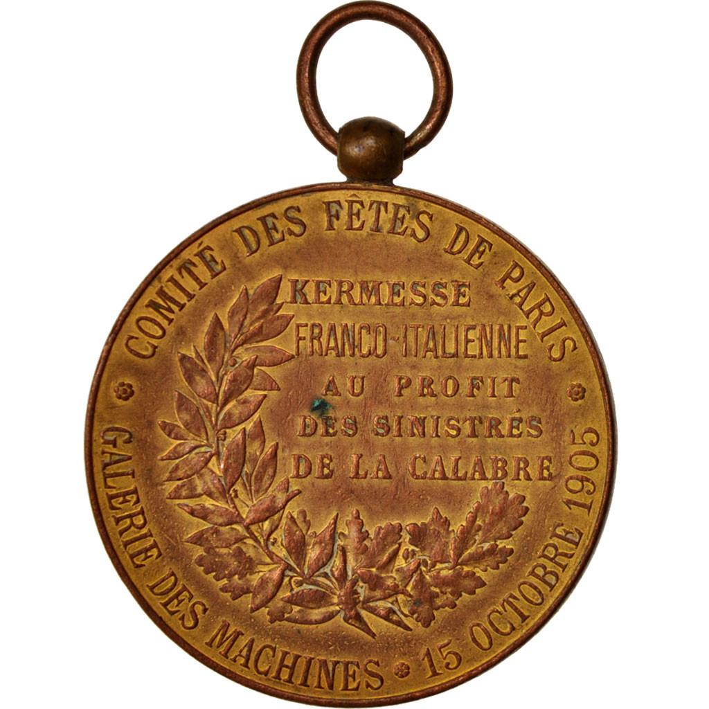 414787 france medal comit des f tes de paris kermesse - Chambre de commerce italienne en france ...