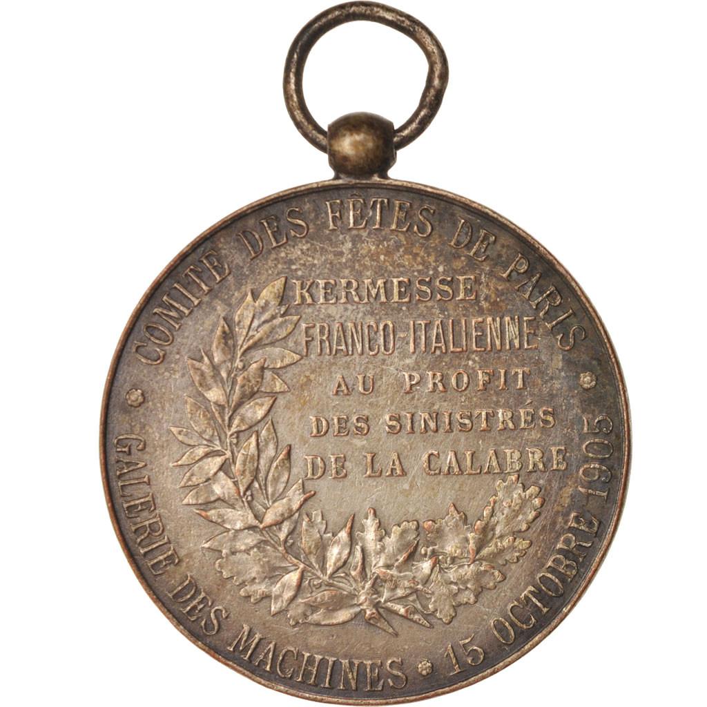 414790 france medal comit des f tes de paris kermesse - Chambre de commerce franco italienne ...