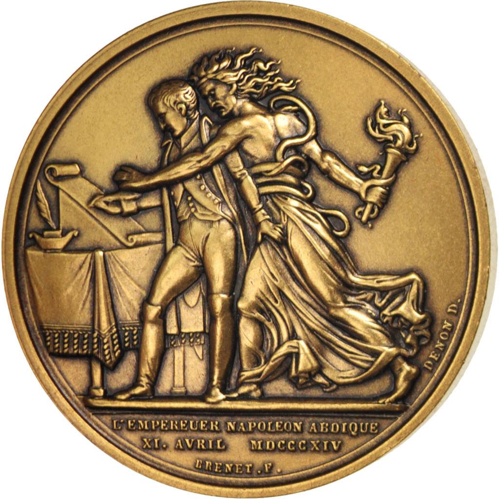 415918 france medal abdication de fontainebleau - Comptoir des cotonniers fontainebleau ...