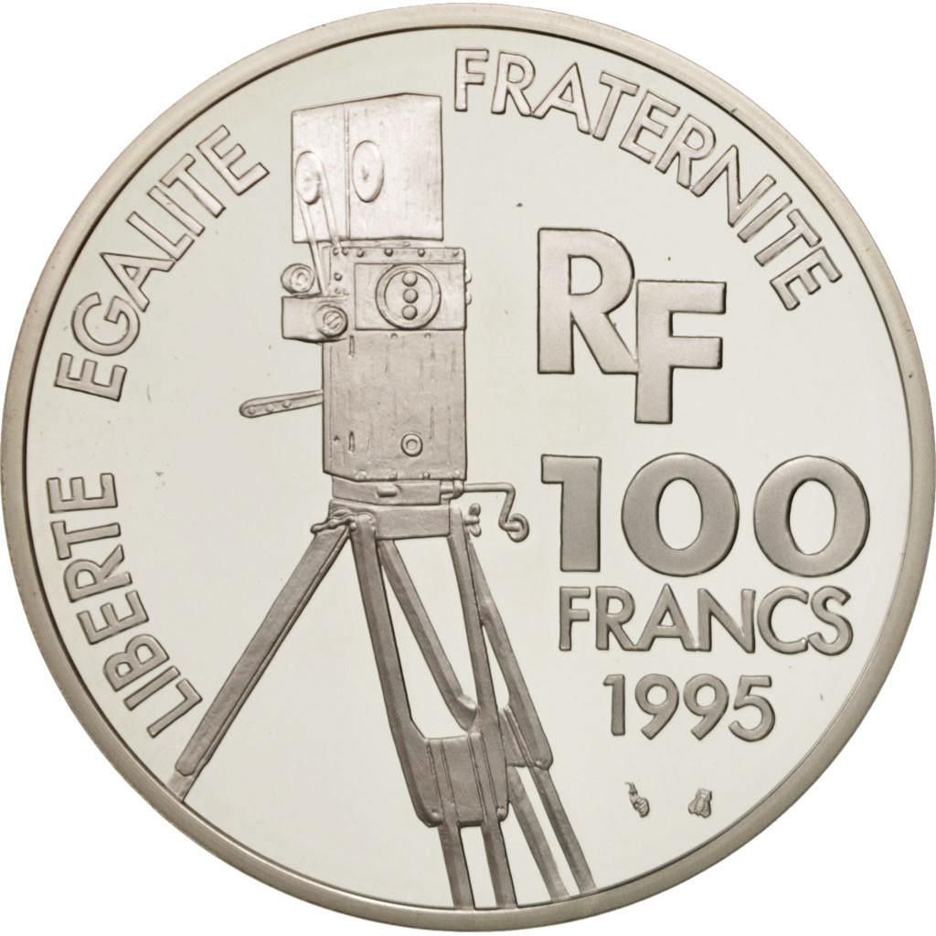 416008 france 100 francs l on gaumont 1995 paris fdc argent km 1080 fdc 100 francs. Black Bedroom Furniture Sets. Home Design Ideas