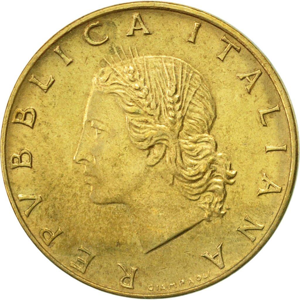 #419439 Italie, 20 Lire, 1980, Rome, TTB+, Aluminum-Bronze ...