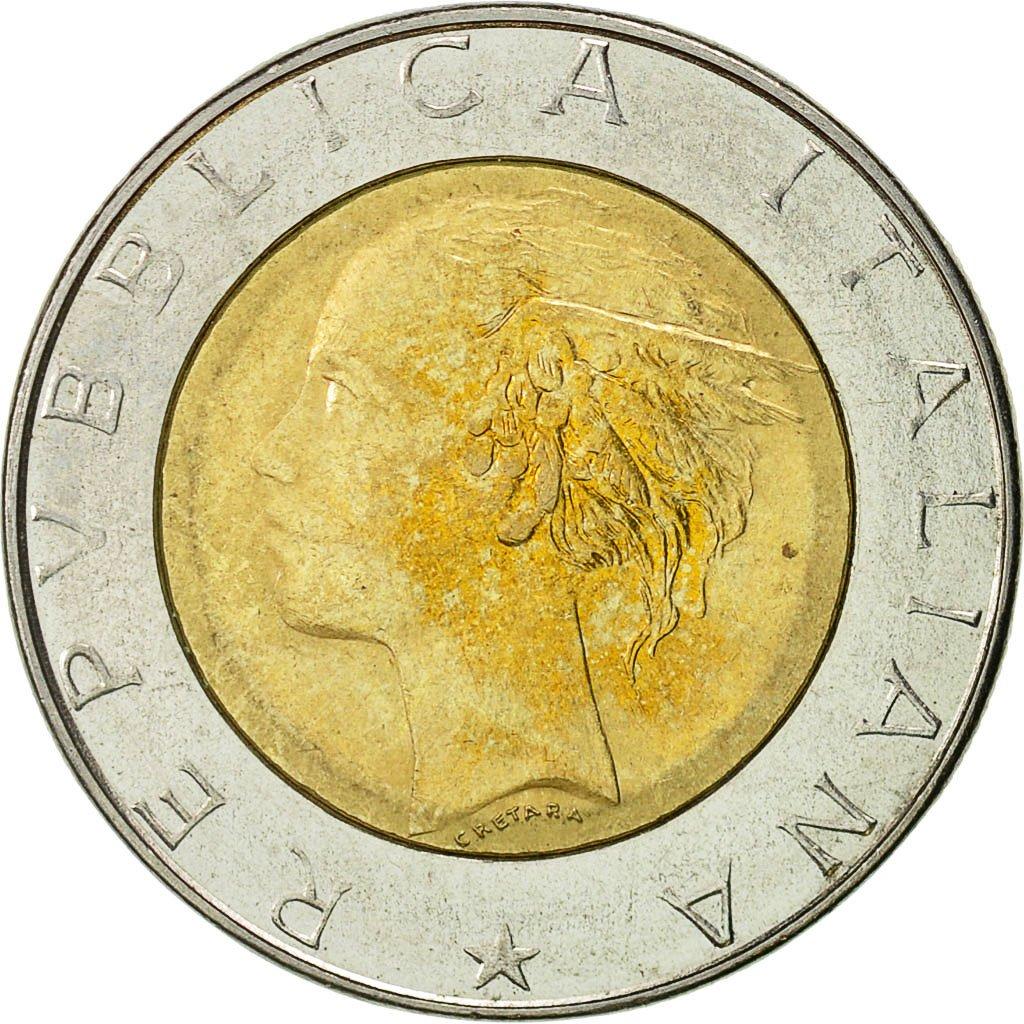 #426991 Monnaie, Italie, 500 Lire, 1986, Rome, TTB+, Bi ...