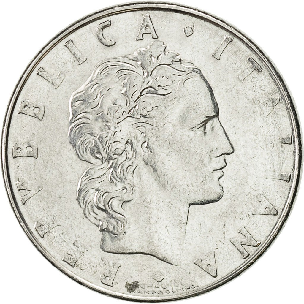 #427871 Italie, 50 Lire, 1979, Rome, TTB+, Stainless Steel ...