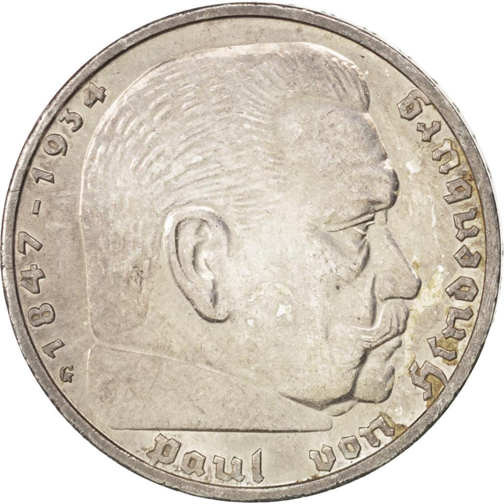 43278 allemagne iii me reich 5 reichsmark 1936 g karlsruhe km 86 ttb 5 reichsmark de. Black Bedroom Furniture Sets. Home Design Ideas