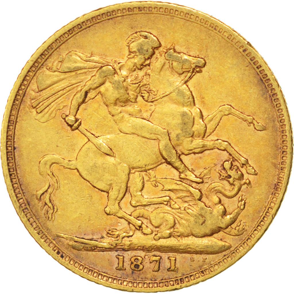 44266 grande bretagne victoria souverain 1871 km 752 - Chambre de commerce francaise de grande bretagne ...