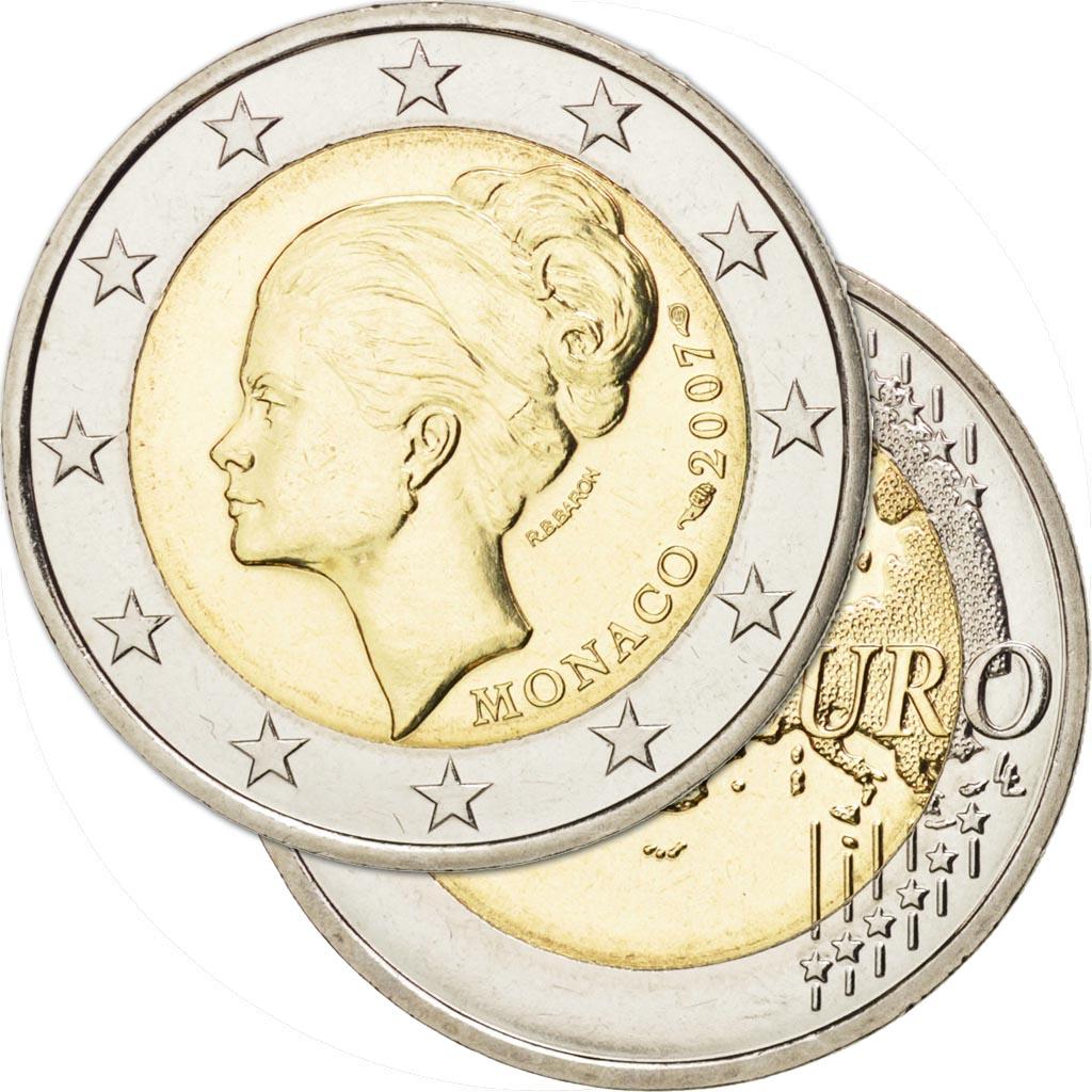 piece de monnaie grace kelly