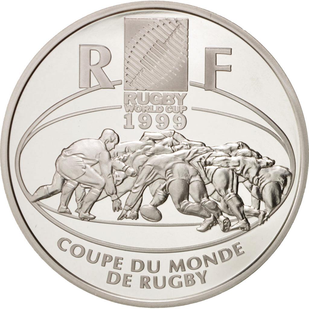 45956 v me r publique 10 francs coupe du monde de rugby 1999 km 1294 fdc 10 francs de 51 - Billet coupe du monde de rugby ...