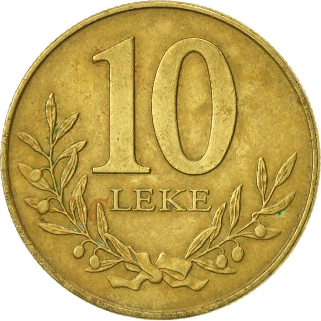 #468723 Albania, 10 Lekë, 2000, Rome, TTB, Aluminum-Bronze ...