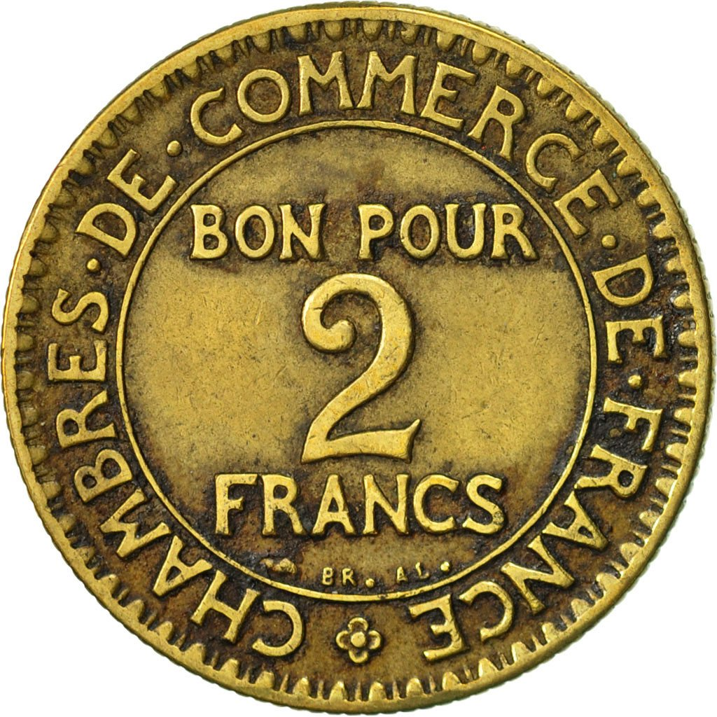 469665 france chambre de commerce 2 francs 1924 paris for Chambre de commerce de france bon pour 2 francs