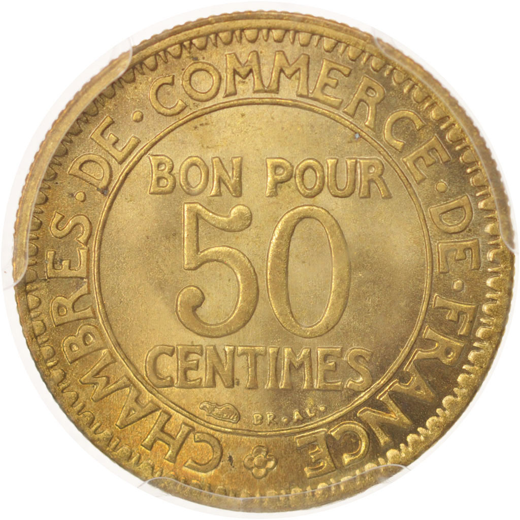 480366 france chambre de commerce 50 centimes 1923 for Chambre de commerce de france