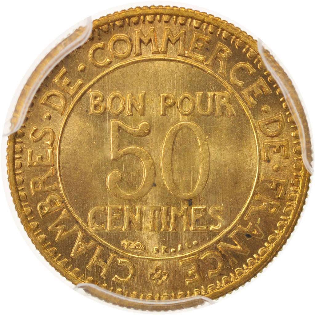 480367 france chambre de commerce 50 centimes 1924 for Chambre commerce france
