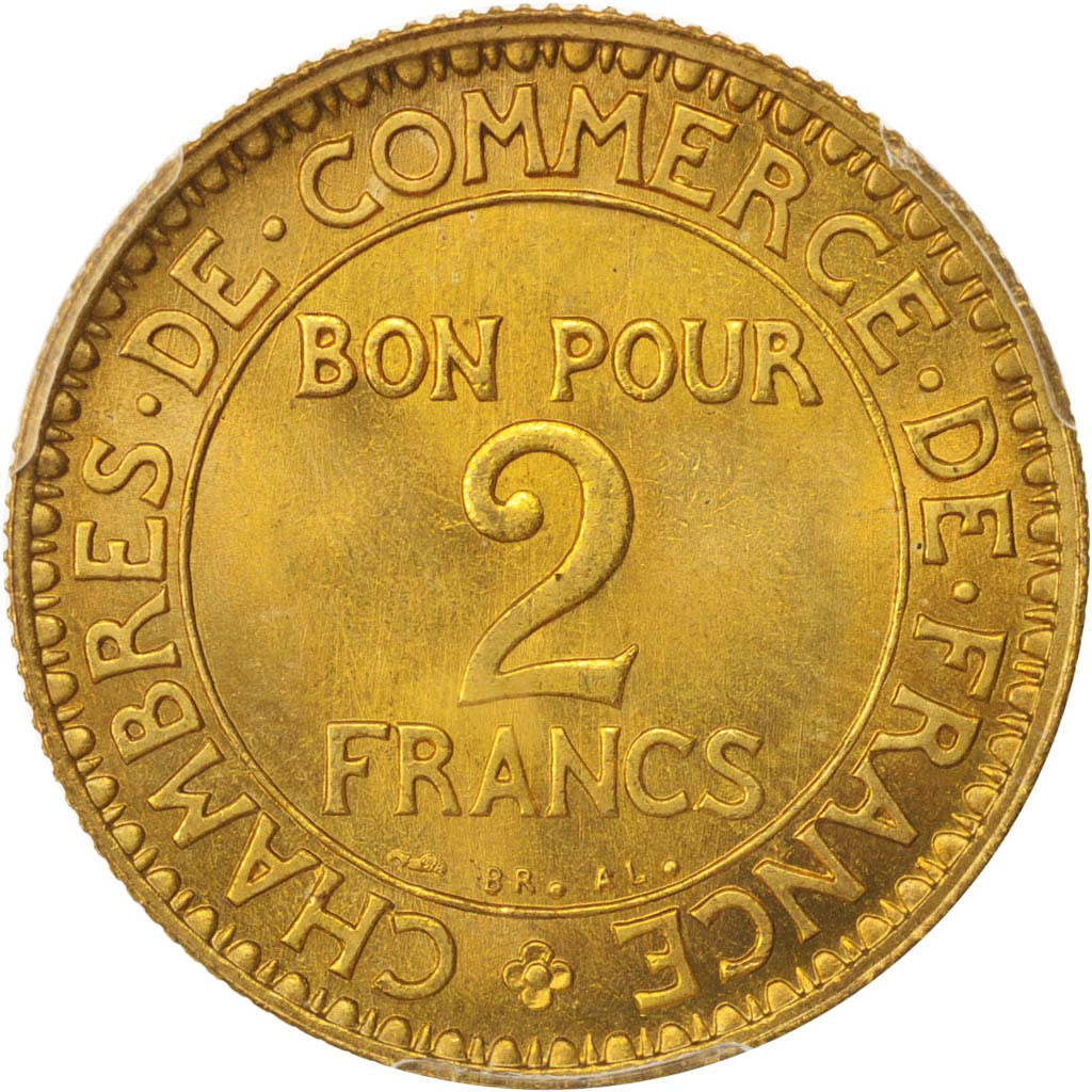 480381 france chambre de commerce 2 francs 1921 paris for Chambre de commerce de france bon pour 2 francs