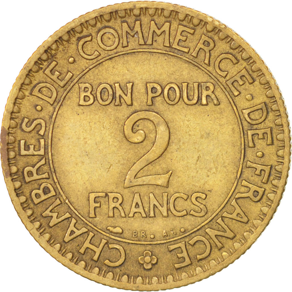 501102 france chambre de commerce 2 francs 1926 paris for Chambre de commerce de france bon pour 2 francs