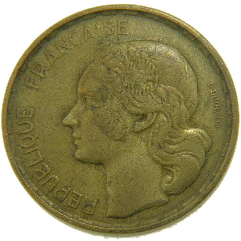 Monnaies Modernes 1900 1958 50 Francs Comptoir Des Monnaies