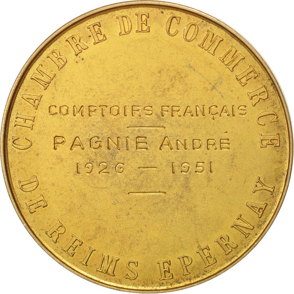 505300 france medaille colbert chambre de commerce de reims epernay argent dor spl - Chambre des commerces reims ...