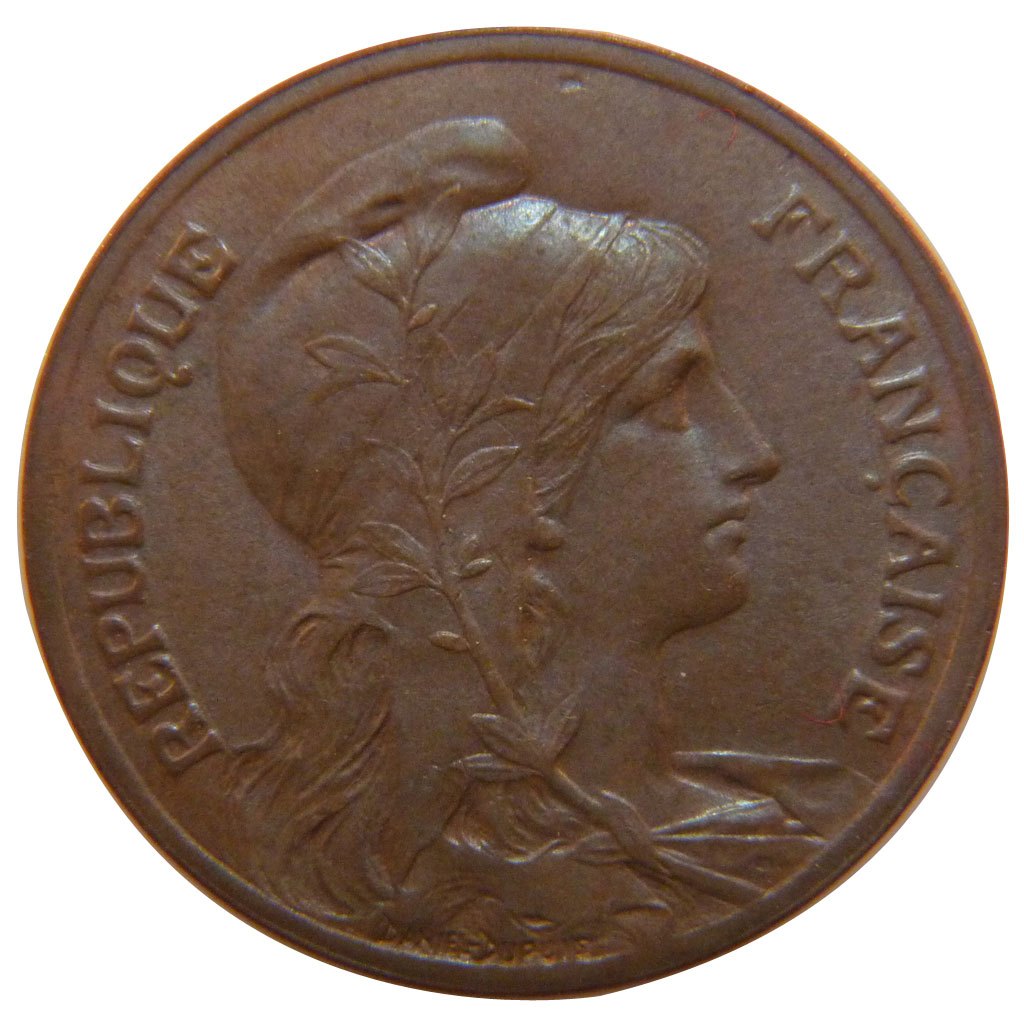 53408 iiie r publique 5 centimes dupuis sup 5 for 53408