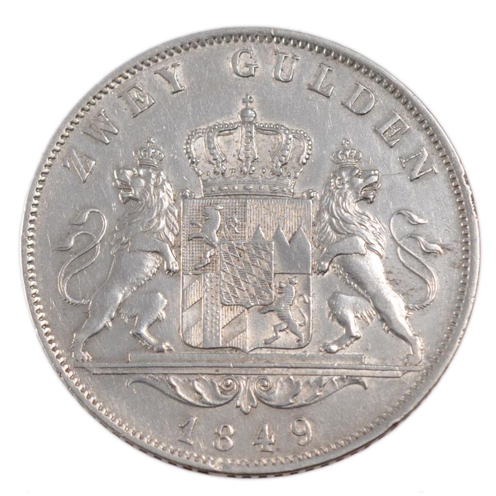 54528 allemagne bavi re 2 gulden ttb 2 gulden de 51 for Chambre de commerce francaise en allemagne