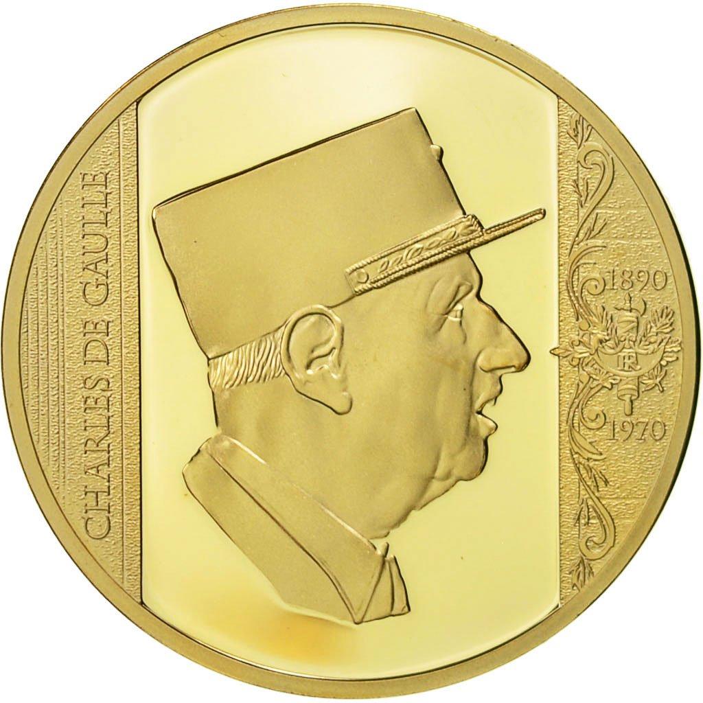 Nouvelles Arrivées sur des coups de pieds de mieux aimé 552675 France, Médaille, Charles de Gaulle, Les Plus Grands ...