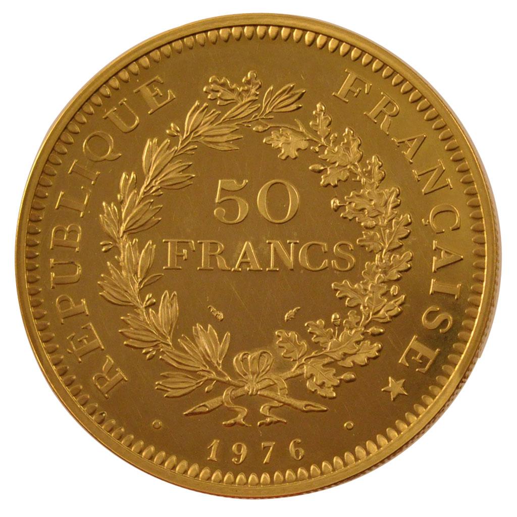 56661 v me r publique 50 francs hercule pi fort en or fdc 50 francs plus de 500 euros or. Black Bedroom Furniture Sets. Home Design Ideas