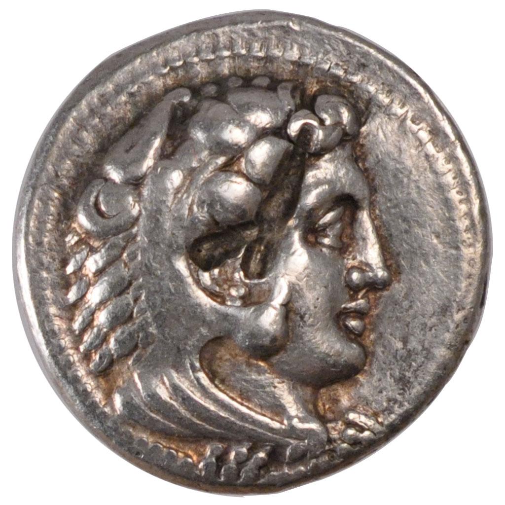 piece de monnaie d'alexandre le grand