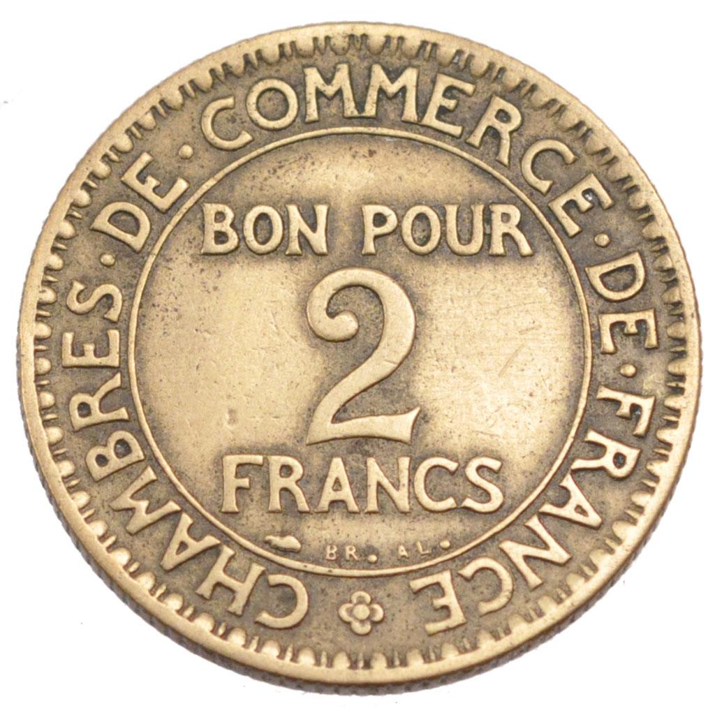 58338 iii me r publique 2 francs chambre de commerce for Chambre de commerce de