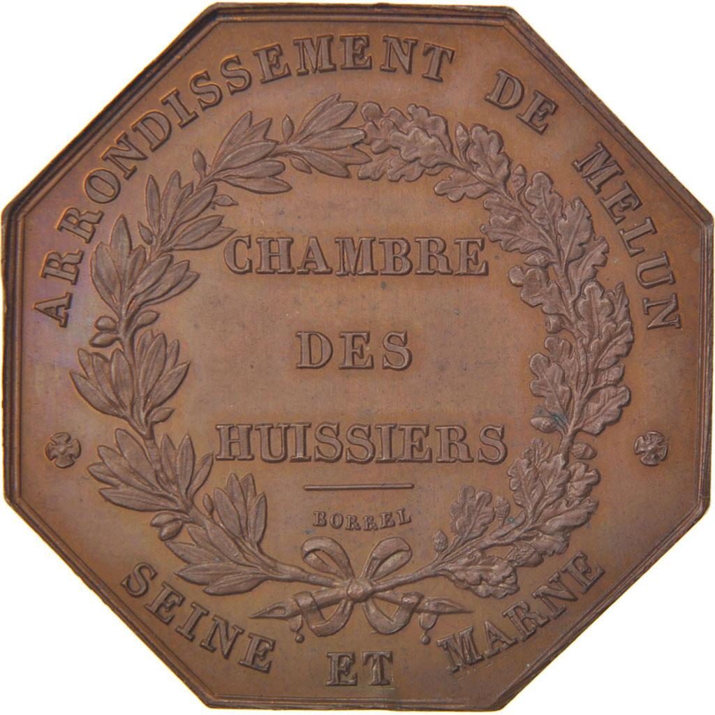 58939 chambre des huissiers de l 39 arrondissement de melun seine et marne jeton sup borrel - Chambre des notaires de melun ...