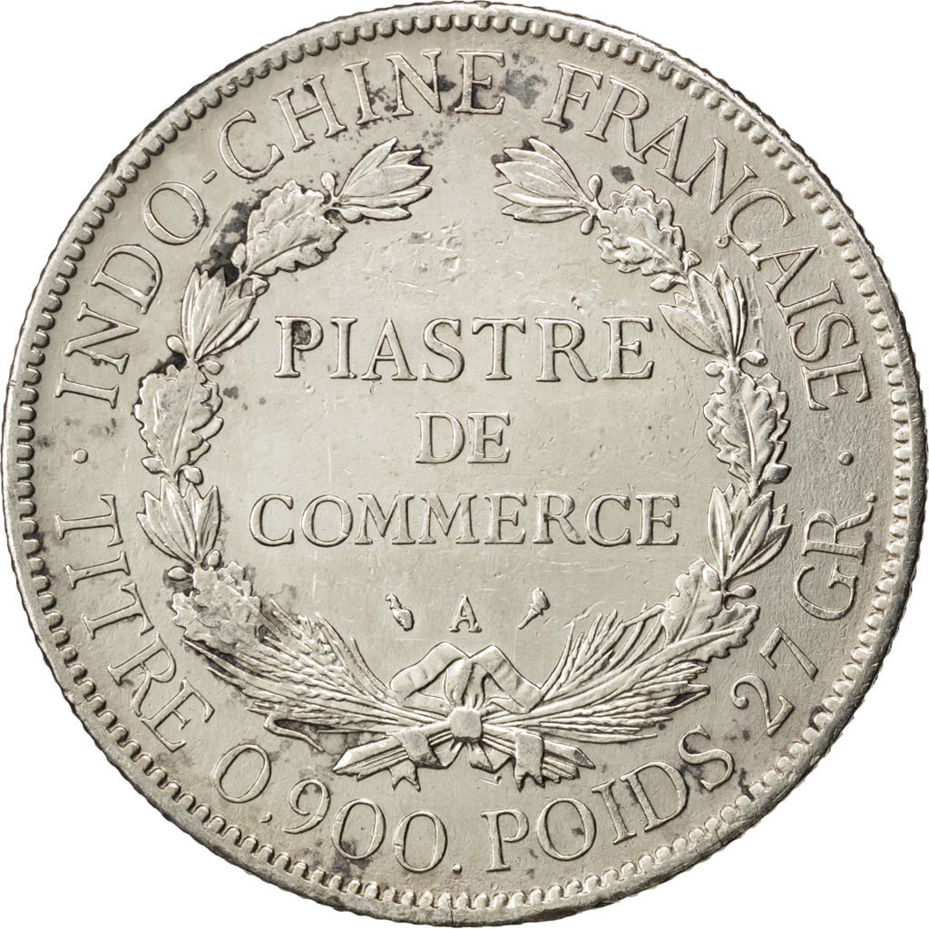 59212 indochine 1 piastre ttb 1 piastre de 51 150 for Chambre de commerce france chine