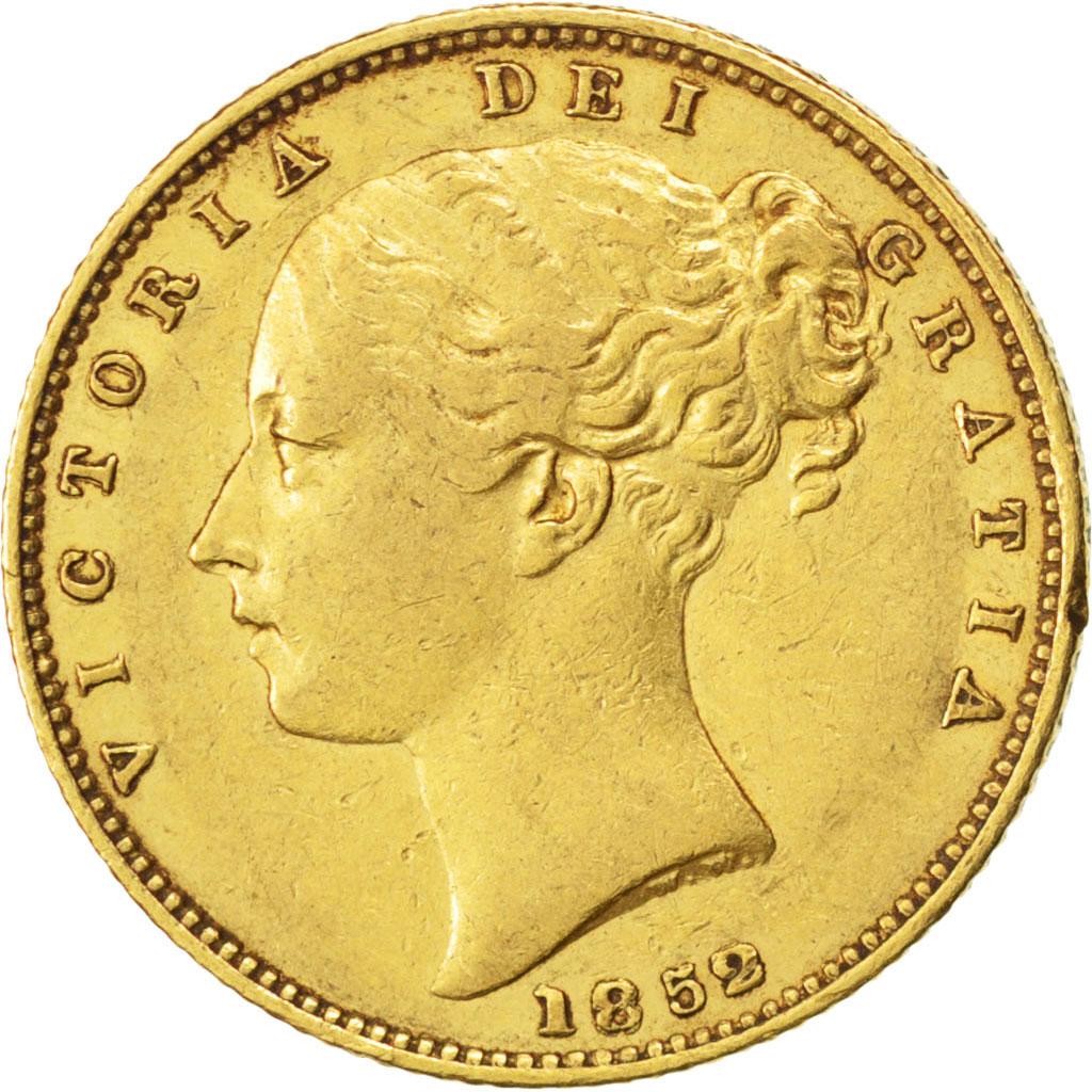 59344 grande bretagne victoria souverain ecusson 1852 - Chambre de commerce francaise de grande bretagne ...
