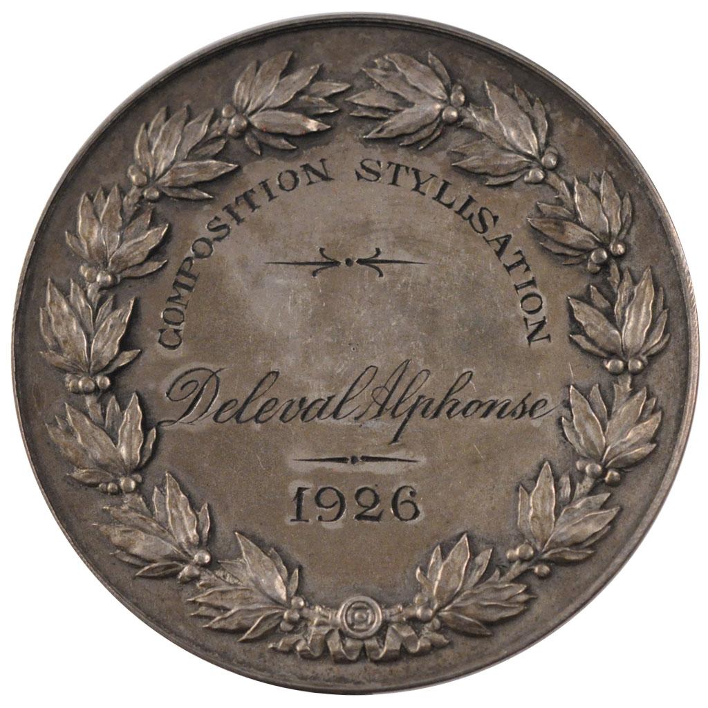 #62230 Académie de peinture et sculpture de Valenciennes, Médaille : SUP, Arts & Culture ...