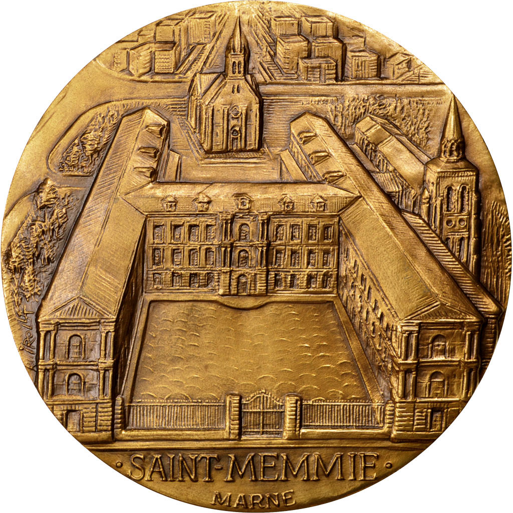 63706 saint memmie marne m daille sup arts culture m daille de 51 150 euros bronze. Black Bedroom Furniture Sets. Home Design Ideas