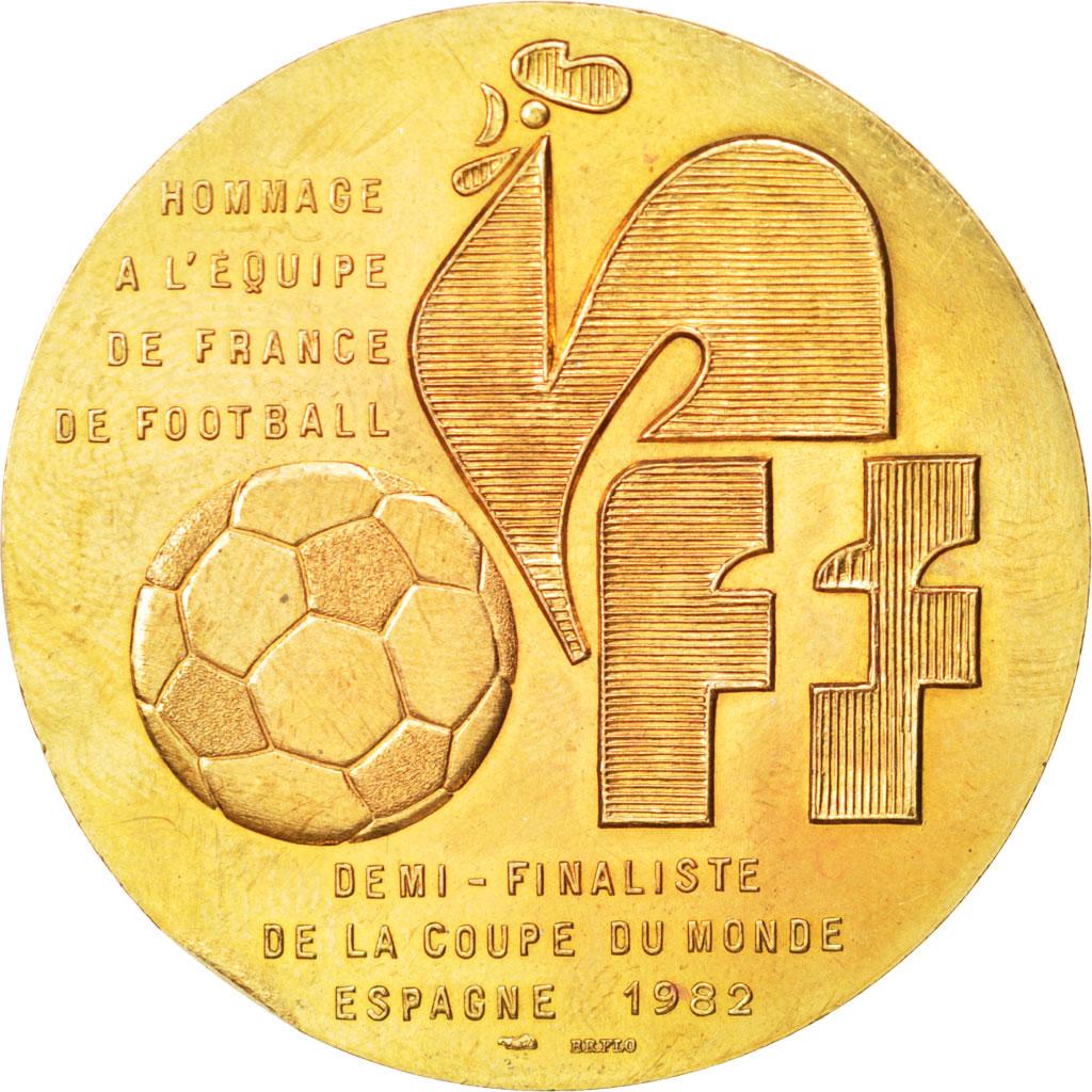 69232 coupe du monde de football de 1982 m daille ttb sports loisirs rodier m daille - Coupe du monde de football 1982 ...