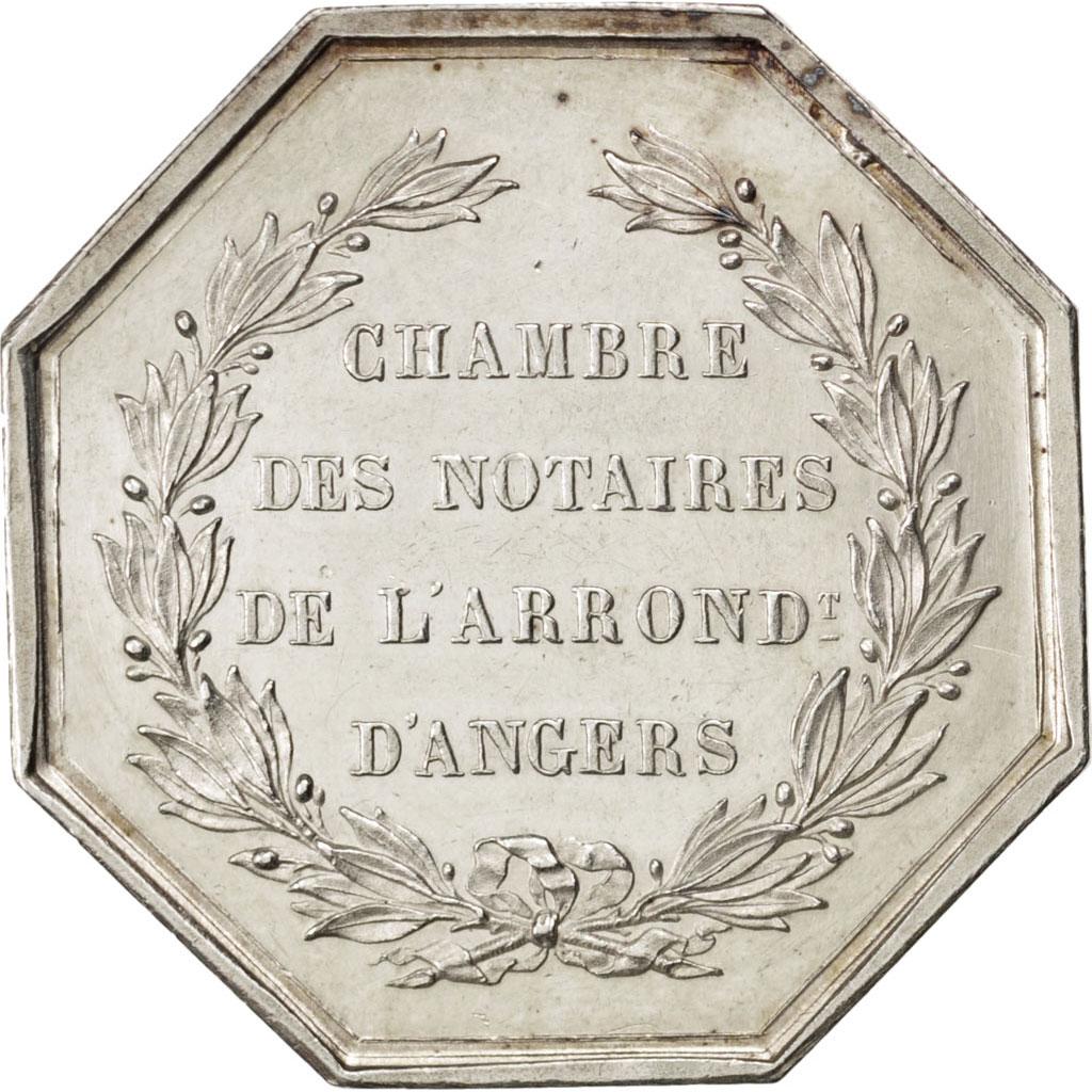 72414 notaires de l 39 arrondissement d 39 angers jeton spl jeton de 51 150 euros argent. Black Bedroom Furniture Sets. Home Design Ideas