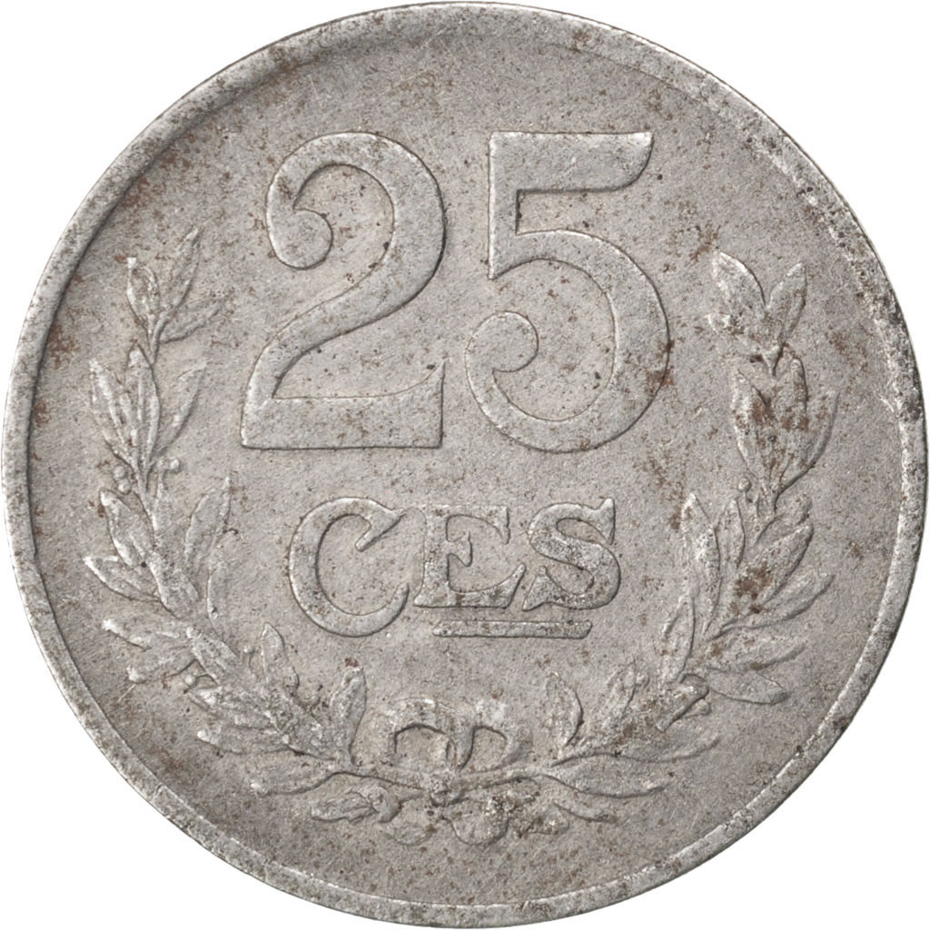 72502 luxembourg charlotte 25 centimes ttb 25 - Comptoir des fers et metaux sa luxembourg ...