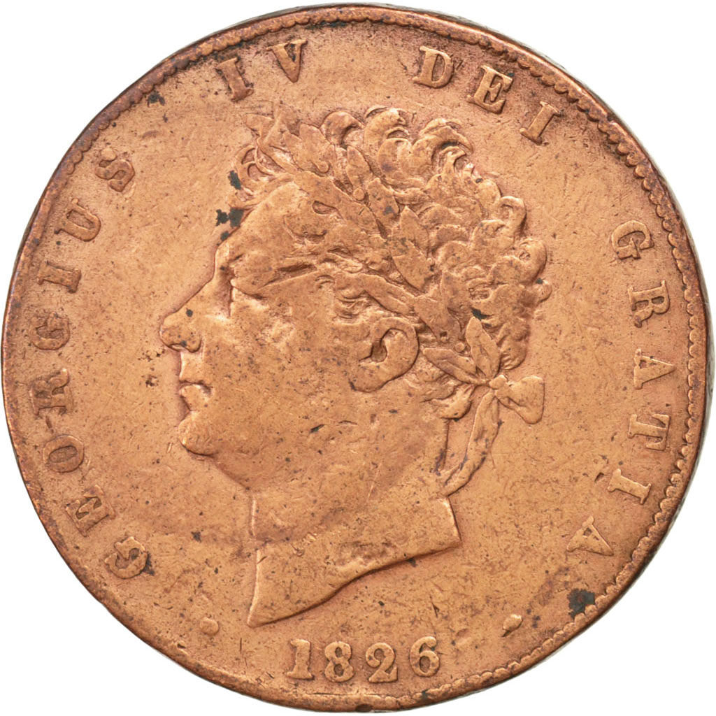 72688 grande bretagne georges iv 1 2 penny tb 1 2 for Chambre de commerce francaise en grande bretagne