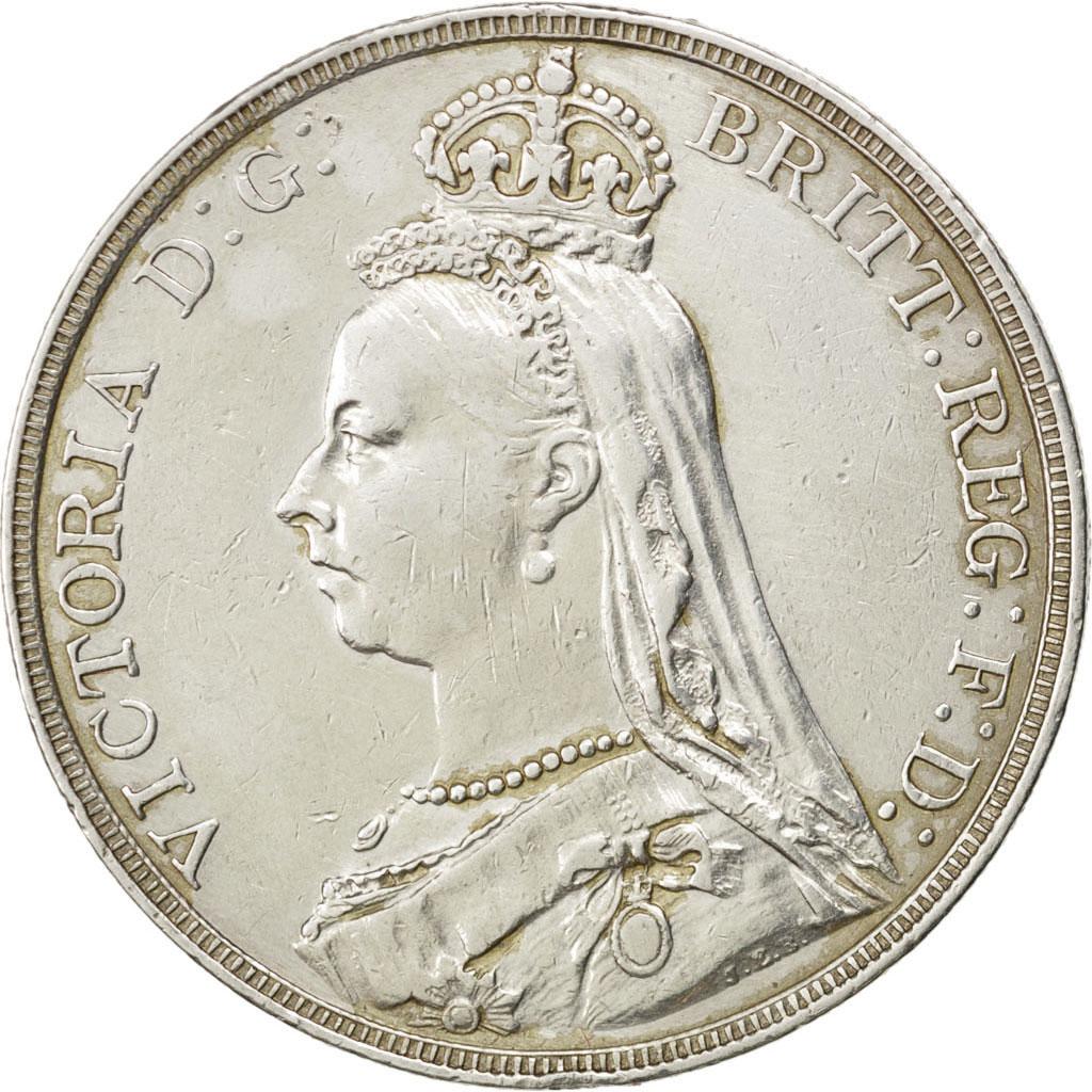 72732 grande bretagne victoria couronne sup couronne de 151 500 euros argent 1890 - Comptoir metallurgique de bretagne ...