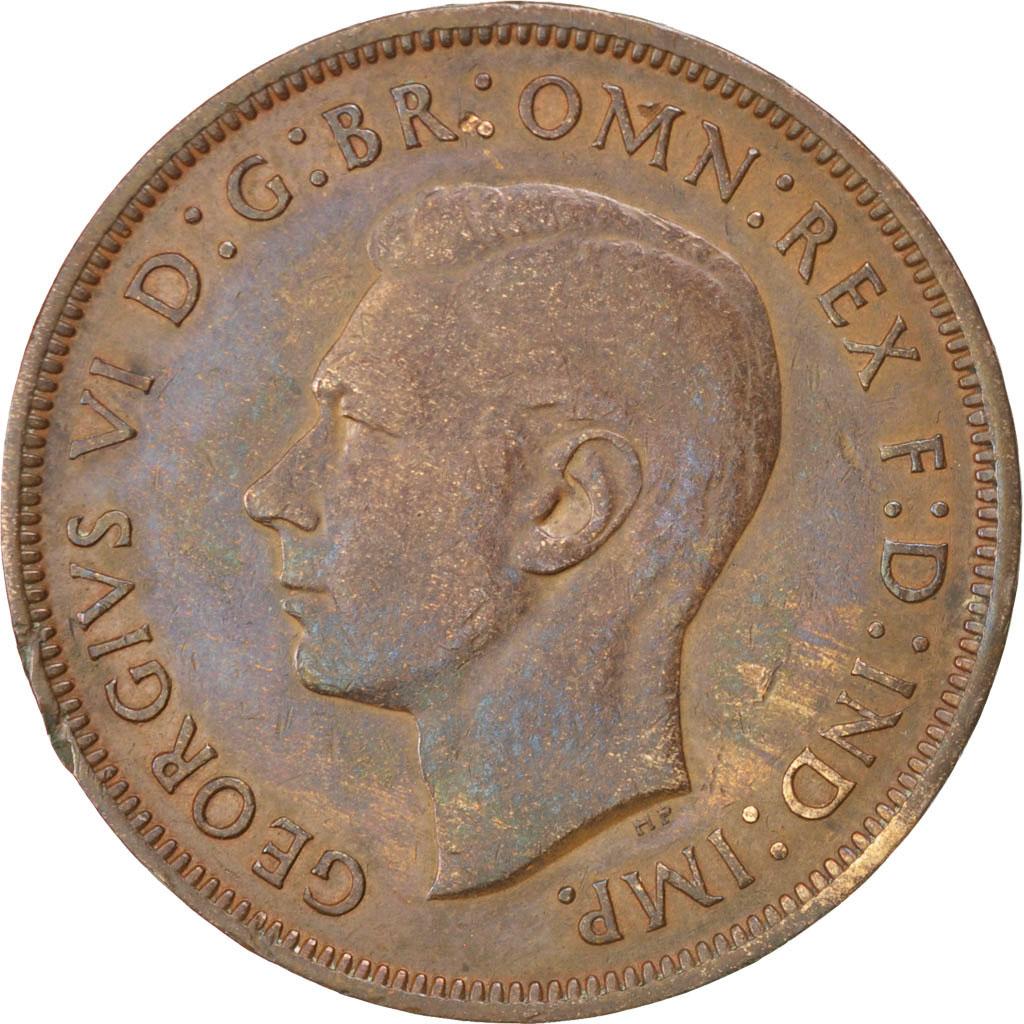 74298 grande bretagne georges vi penny 1938 km 845 for Chambre de commerce francaise de grande bretagne