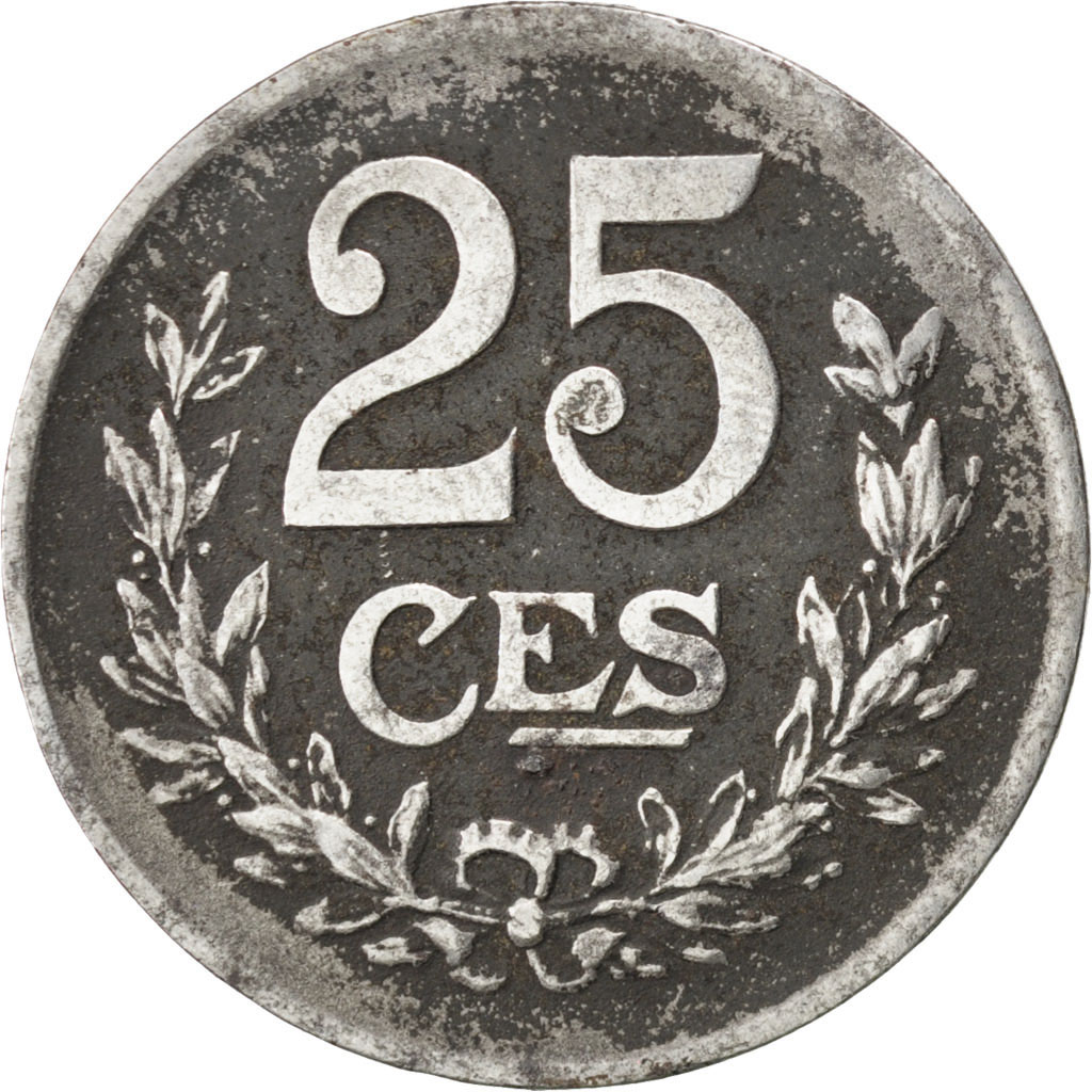 74352 luxembourg charlotte 25 centimes 1920 km 32 - Comptoir des fers et metaux luxembourg ...
