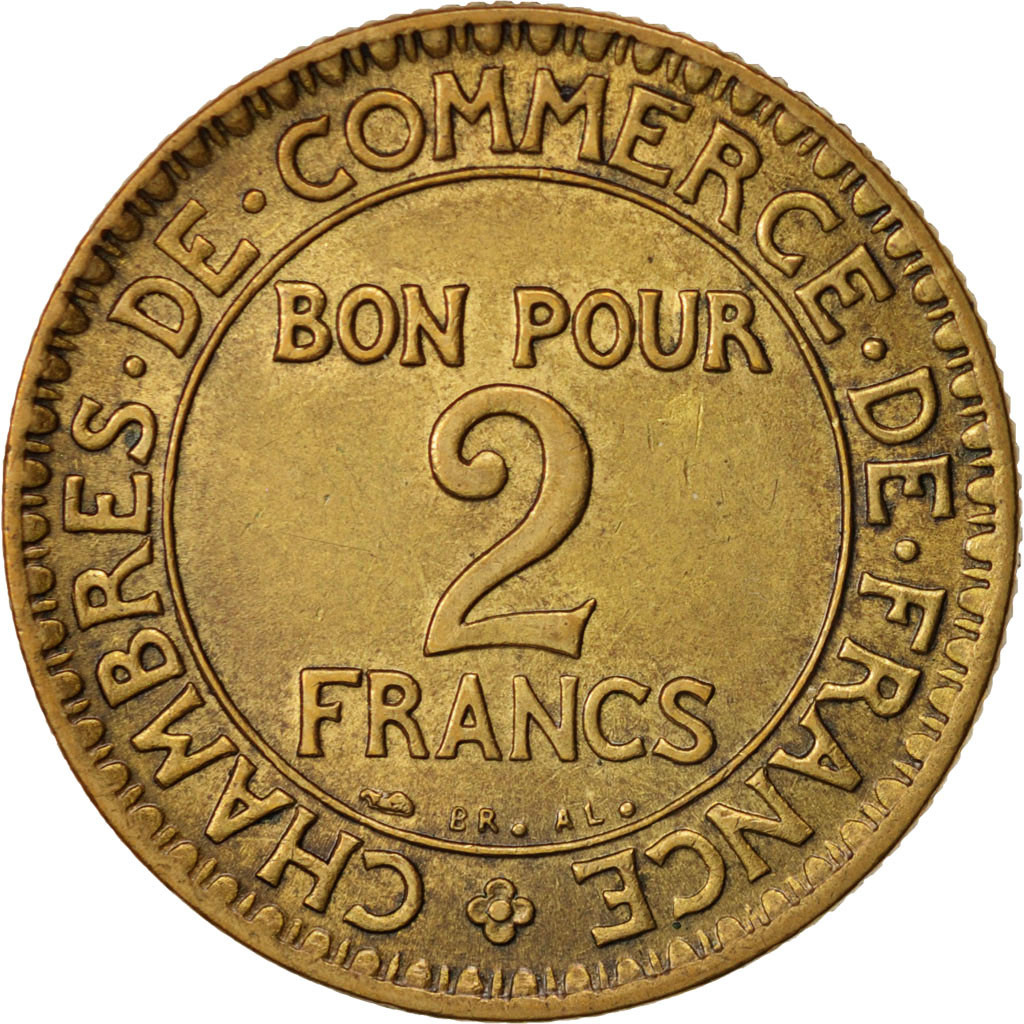 79316 france chambre de commerce 2 francs 1925 paris - Chambre de commerce francaise a l etranger ...