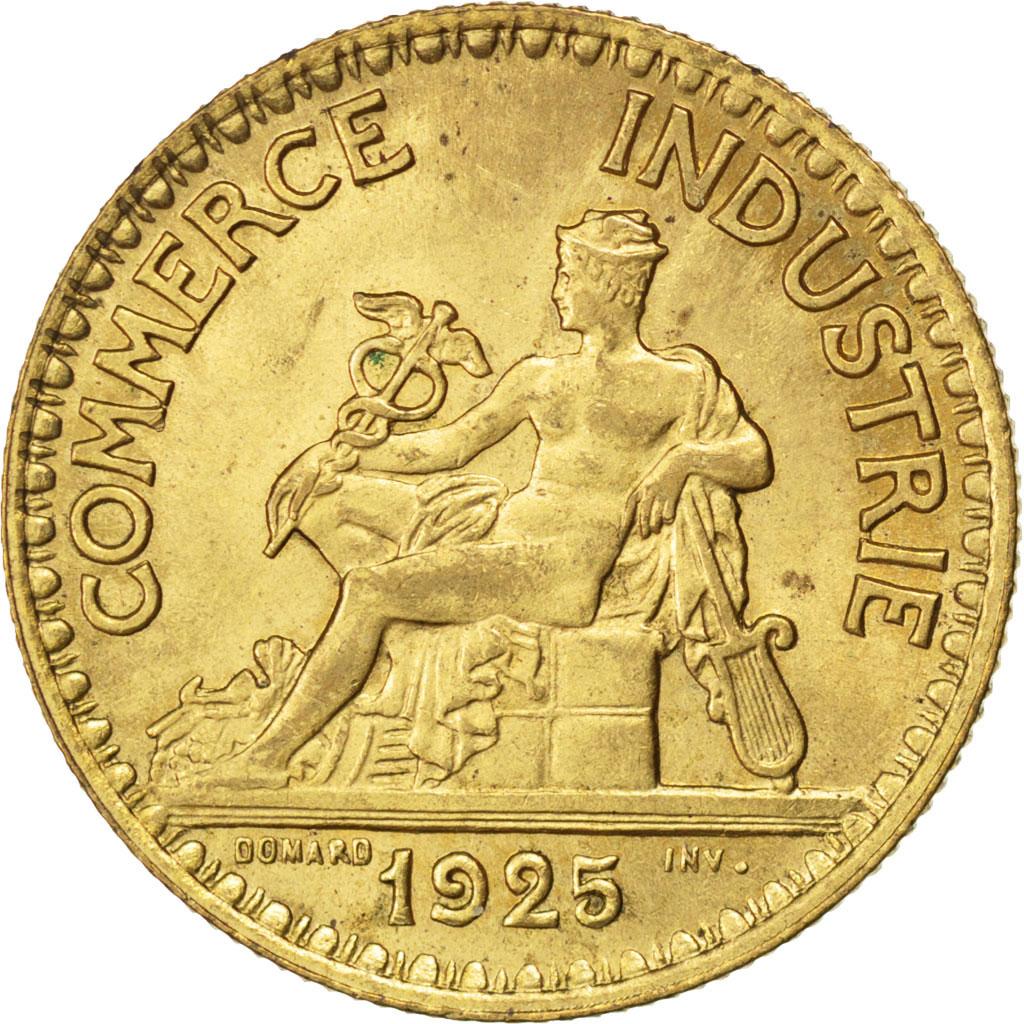 83621 iii me r publique 2 francs chambre de commerce for Bon pour 2 francs 1925 chambre commerce
